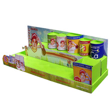 Cardboard  Food Countertop Display with Attractive Product Image