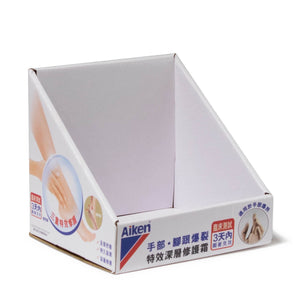 Cardboard Personal Cares Product Countertop Display with Full Color
