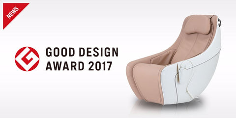 Synca Circ Compact Massage Chair Good Design Award