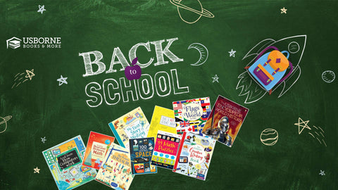 Back to School with Usborne Books and More - Photo Provided by Usborne Books and More via Facebook