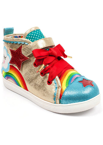 Irregular Choice Kids Bring Me Sunshine Schoenen Goud