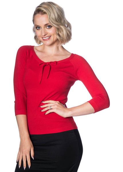 Banned Pretty Illusion Top Rood