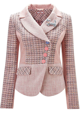 Joe Browns Pretty In Pink Blazer Jasje Roze