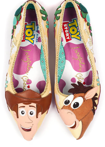 Irregular Choice Toy Story Round Up Gang Ballerina's