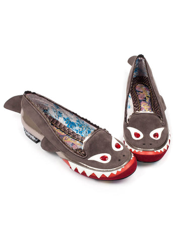 Irregular Choice Mr Shark O Ballerina's Grijs