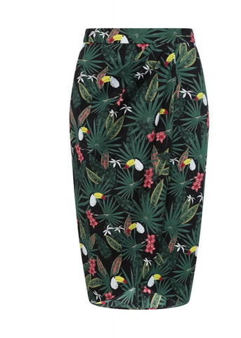 Collectif Kala Tropicalia 50's Sarong Rok Multi