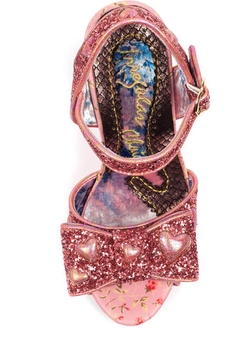 Irregular Choice With Love Hot Rocks Pumps Roze