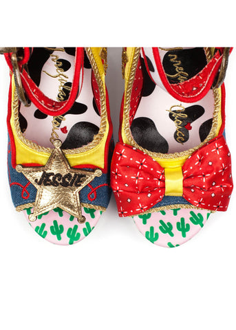 Irregular Choice Toy Story Rootinest Tootinest Cowgirl Pumps