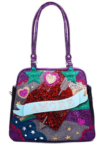 Irregular Choice Amore Tas Zwart