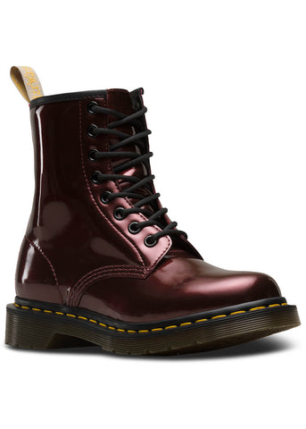 Dr. Martens 1460 Vegan Chrome Veterlaarzen Oxblood Rood