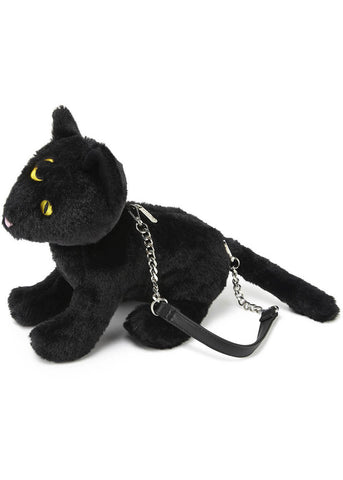Killstar Binx Cat Handtas Zwart
