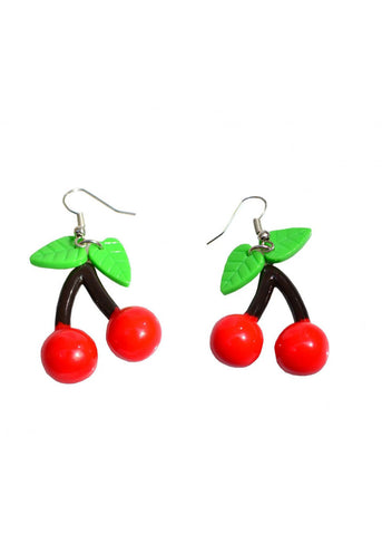 Collectif Cherry Drop Oorbellen