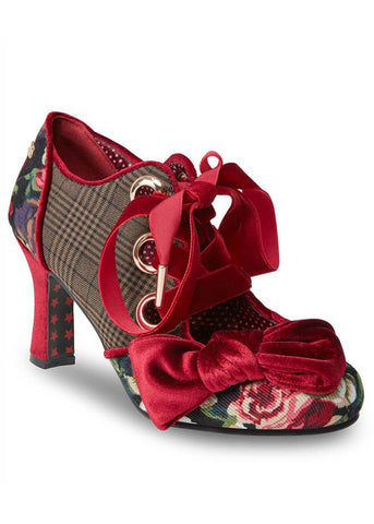 Joe Browns Couture Ruby 40's Pumps Burgundy