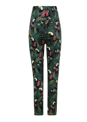 Collectif Bonnie Tropicalia 50's Broek Multi