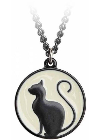 Alchemy Meow At The Moon Ketting