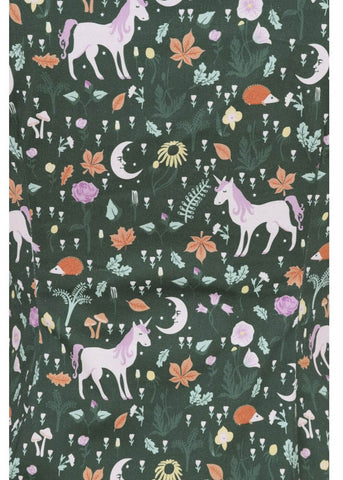 Collectif Dolores Unicorn Glade 50's Top Groen
