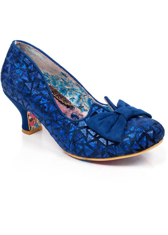 Irregular Choice Dazzle Razzle Pumps Blauw