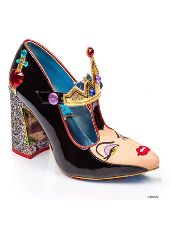 Irregular Choice Snow White The Evil Queen Pumps Zwart Goud