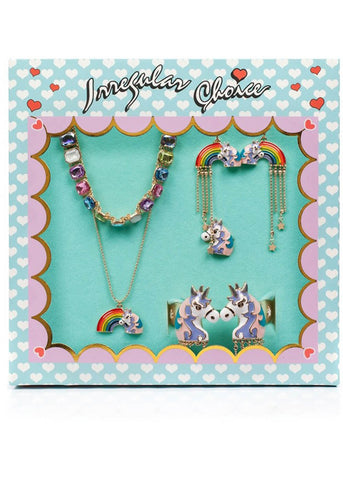 Irregular Choice Unicorn Dreaming Sieraden Set