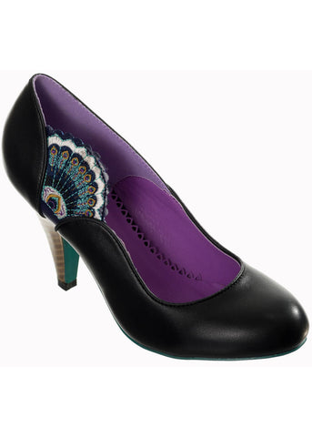 Banned Sway Peacock Pumps Zwart
