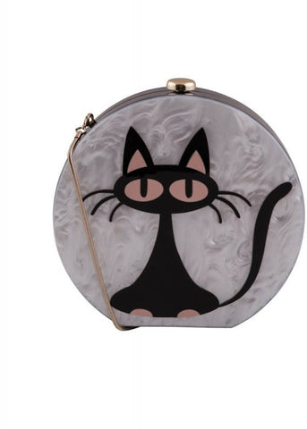 Collectif Milo Cat Tas Wit Zwart
