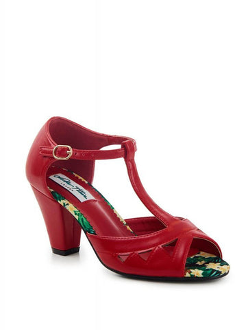 Lulu Hun Veronica 50's Pumps Rood