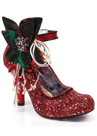 Irregular Choice Sweet Melody Pumps Rood