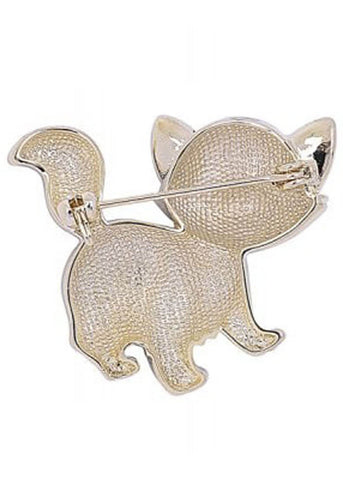 Collectif Sweet Kitty Broche Zwart