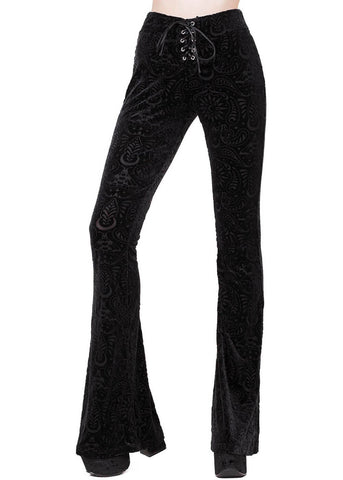 Killstar Bellatrix Bell Bottoms Broek Zwart