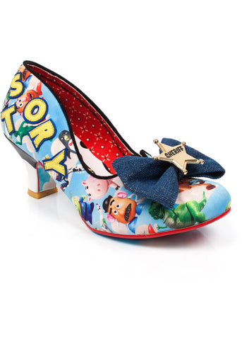 Irregular Choice Toy Story Sheriff Woody Pumps