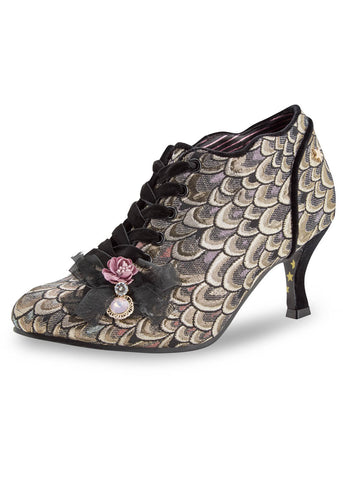 Joe Browns Couture Georgianna Peacock Feathers Booties
