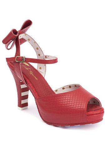 Lola Ramona Angie Night Fever 50's Pumps Rood