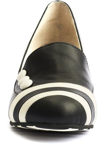 Lola Ramona Ava Working It 60's Pumps Zwart Cream