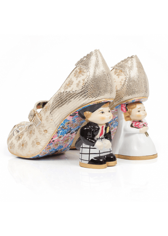 Irregular Choice I Love You Bruidsschoenen Goud