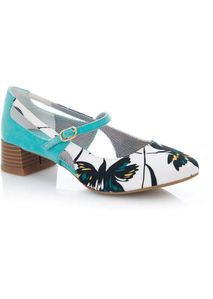Ruby Shoo Iris Pumps Aqua