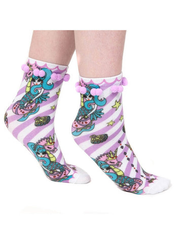 Irregular Choice Mermaid Sockadelic Sokken