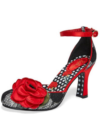 Joe Browns Couture Cordelia Polkadot 50's Pumps Zwart