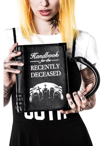 Killstar Dee Ceased Book Handtas Zwart