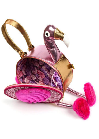 Irregular Choice Florance Flamingo Tas Roze