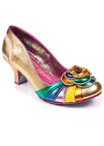 Irregular Choice Stupenda Pumps Goud