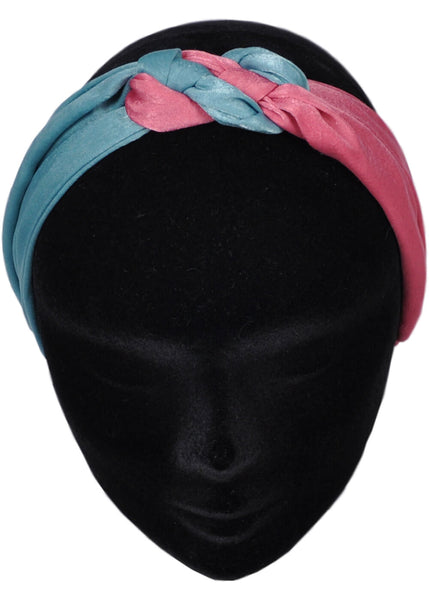 Succubus Twist & Mix 70's Haarband Roze Teal