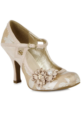 Ruby Shoo Yasmin Pumps Rose Gold