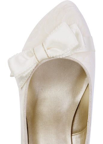 Ruby Shoo Susanna Pumps Cream