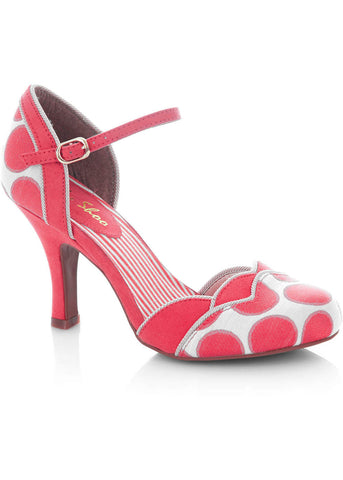 Ruby Shoo Phoebe Pumps Koraal