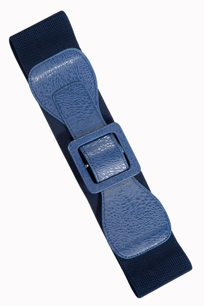 Banned Lady's Day Out Elastische Riem Navy