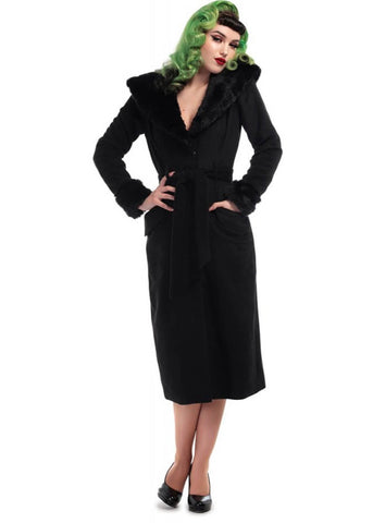 Collectif Carmella 50's Pencil Jas Zwart