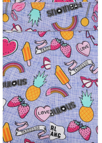 Collectif Lisa Girl Gang 60's Shorts Multi