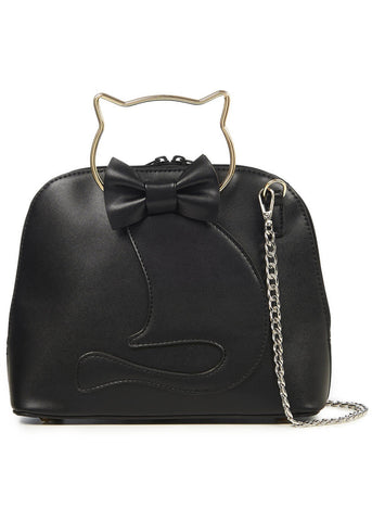 Banned Dixie Cat Tas Zwart