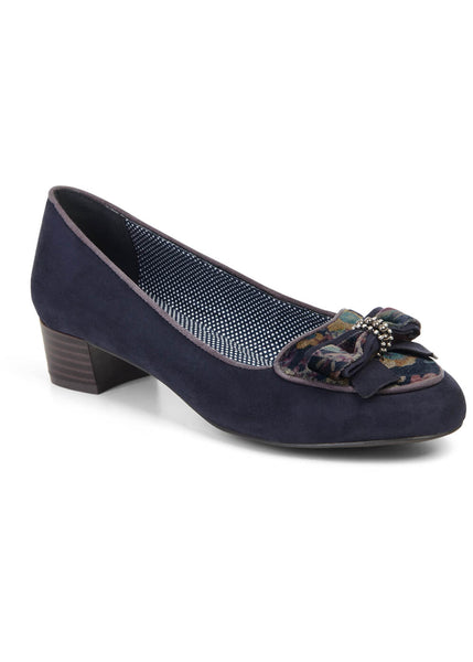 Ruby Shoo Victoria Loafer Navy