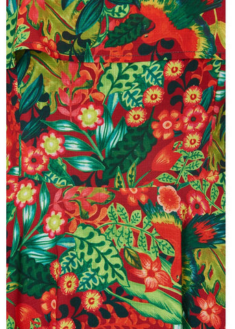 Bright & Beautiful Darcy Tropical Paradise Jurk Multi